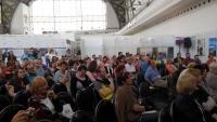 Publikum Skřipce ve Velkém sále Střední haly